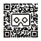 QRcode voor Google Cardboard 2.0 VR-bril